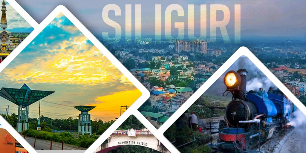 The best places of Siliguri in a frame